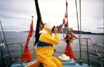 2 June, 2016. Jon Sanders' 1986 – 1988 world-record breaking solo triple circumnavigation. Curtin Uni