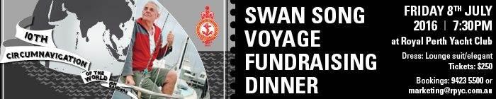 Jon Sanders Swan Song Voyage Fundraising Dinner