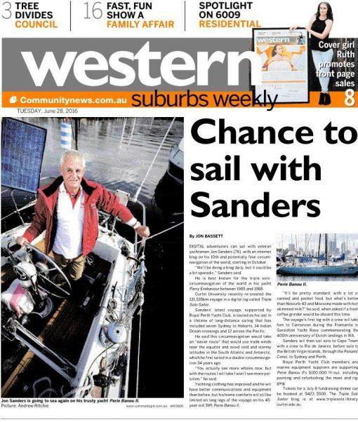 Western Suburbs Weekly. 28 June 2015. Jon Sanders p5