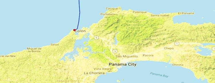 Colon - Panama Canal