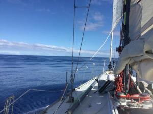 It was all calm in the 1000 NM Tahiti to New Caledonia
