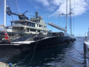 Super Yachts, Taina Marina Tahiti